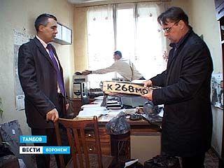 Сотрудники тамбовского угрозыска задержали четырёх жителей Воронежа