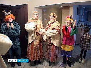 """Сотрудники центра детского творчества """"Радуга"""" колядовали в первый раз"""