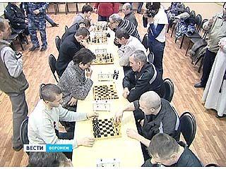 Сотрудники ведомства, осужденные и служители церкви играли в шахматы