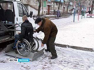 Социальное такси большинству воронежских инвалидов не по карману