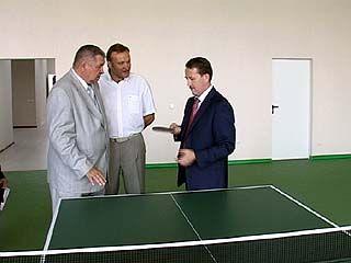 Современный спорткомплекс - каждому району Воронежской области