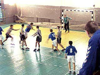 Спартакиада по гандболу проводится в Павловске