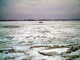 Спасатели извлекли из Воронежского водохранилища трупы двух рыбаков