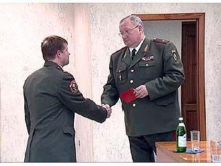 Спасателям вручили награды и юбилейные медали