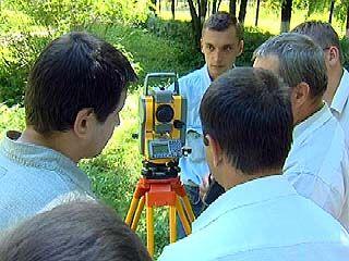 Специалисты Воронежа оценили новое геодезическое оборудование