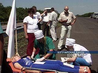Спецслужбы тренировались спасать пострадавших в ДТП