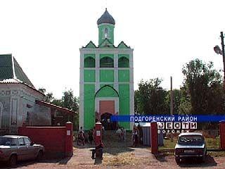Спустя 73 года в слободе Подгорное появился храм