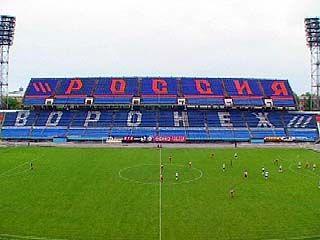 Сразу два футбольных матча состоялись в Воронеже