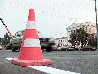 Сразу на двух крупных магистралях Воронежа ведется ремонт