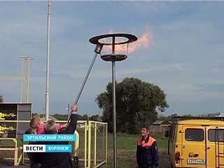 Сразу в девятнадцать сел Эртильского района  в этом году пришел газ