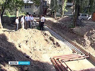 Сроки ремонта теплотрасс поджимают воронежских подрядчиков