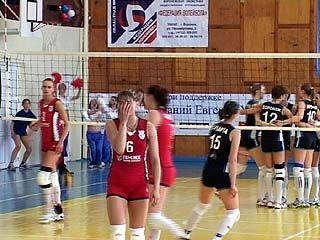 Стартовал финальный этап первенства России по волейболу среди женщин