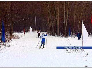 Стартовали лыжные гонки за кубок Новой Усмани