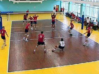 Стартует первенство области по волейболу