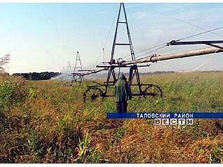 Старые оросительные фрегаты помогли в борьбе с убытками таловчанам