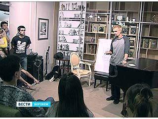 Степан Образцов читал в Воронеже лекции об андронном коллайдере