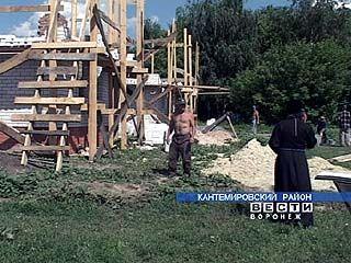 Строительство храма возобновилось в Митрофановке