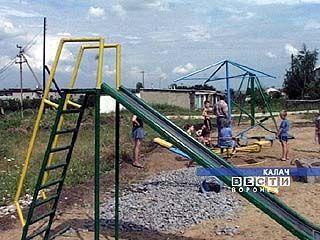 Строительство спортивного городка завершается в Калаче