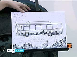 """Студенты разрисуют """"народные"""" автобусы граффити"""