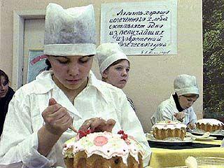 Студенты соревновались в приготовлении пасхальных куличей