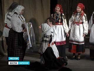 Студенты Воронежской академии искусств дали спектакль в Москве!