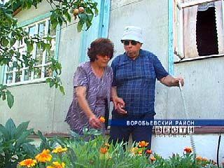 Супруги Пустовойтовы из Воробьевки вместе преодолевают невзгоды