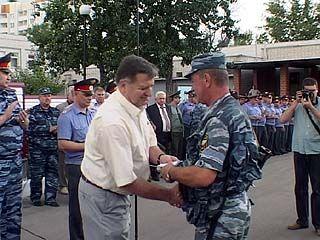 Сводный отряд воронежской милиции вернулся из Ачхой-Мартана
