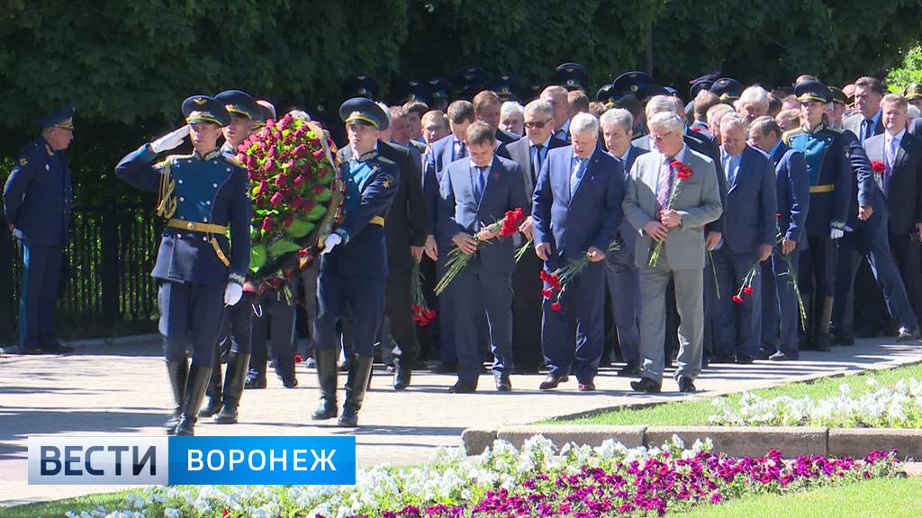Воронежцы вспоминают павших в Великой Отечественной войне