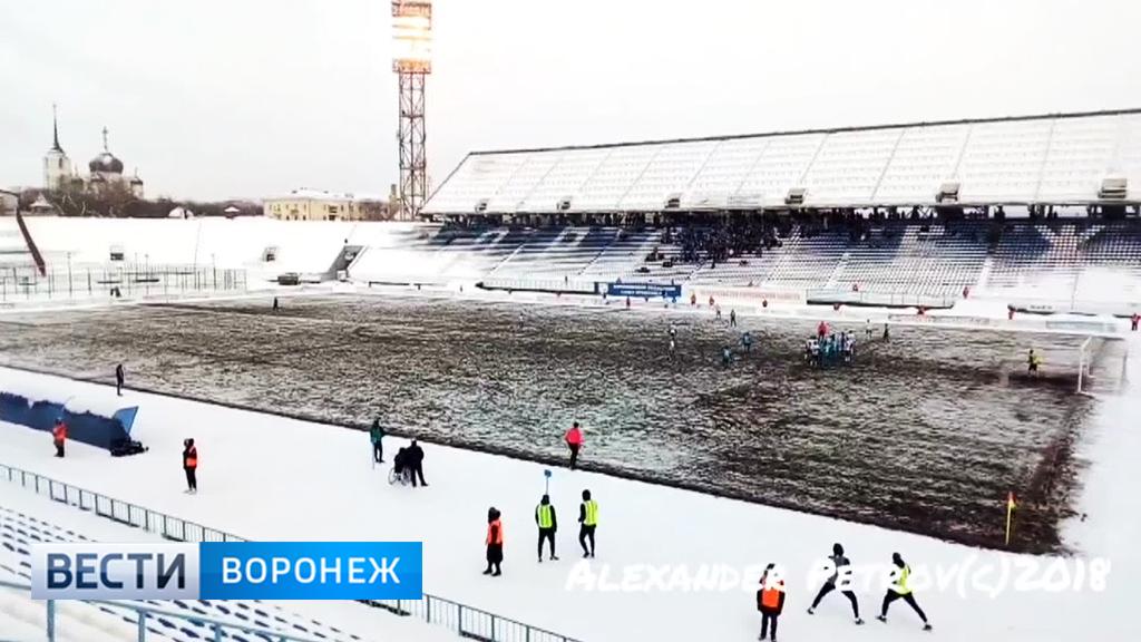 Воронежский «Факел» готовится к решающей части чемпионата в суровых условиях