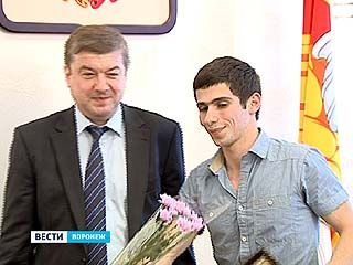Талантливая молодежь Воронежа получила благодарственные письма от мэра