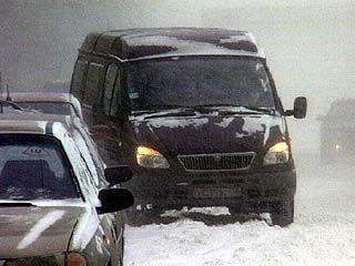 Таловая оказалась в снежном плену