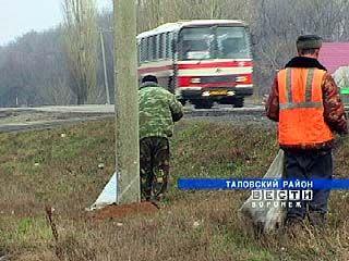 Таловские дорожники приступили к весенней уборке дорог