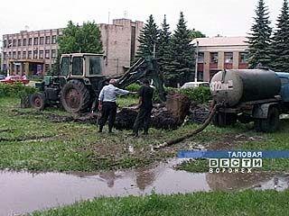 Таловские коммунальщики не справляются со своей работой
