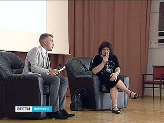 Татьяна Толстая прочла в Воронеже лекцию о современной журналистике и литературе