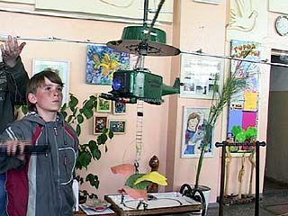 Технические чудеса можно было увидеть на конкурсе юных инженеров