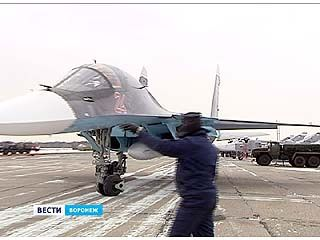 Теперь в Воронеже две эскадрильи истребителей-бомбардировщиков СУ-34