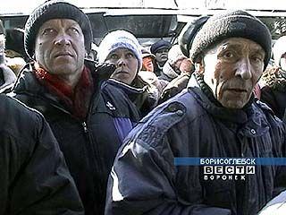 Торговцы вещевого рынка Борисоглебска вновь бастуют