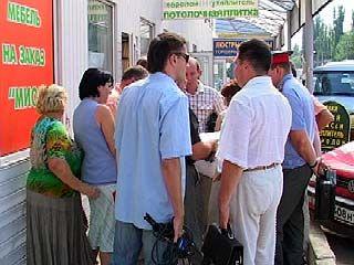 Торговый ряд на улице Димитрова пойдет под снос