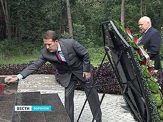 Торжественные мероприятия прошли в Репном у памятника героям трёх войн