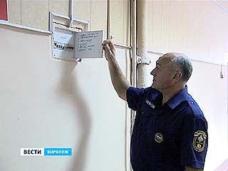 Тренировка гражданской обороны в Воронеже прошла бесшумно