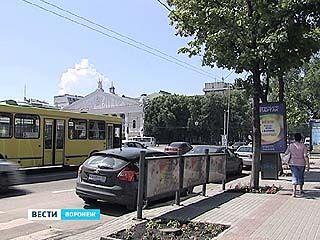 Центр Воронежа снова зарастет рекламными конструкциями