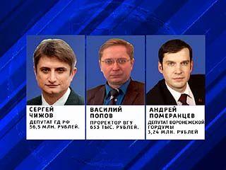 Центризбирком опубликовал доходы воронежских кандидатов в депутаты