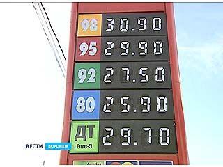Цены на топливо в Воронеже опять начали расти