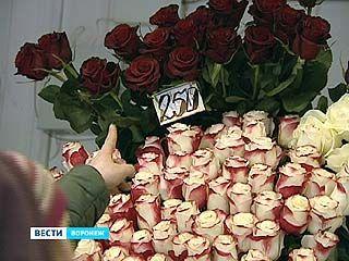Цены на цветы перед 8 марта выросли сразу на 70%