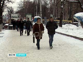 Циклон принесет в Воронежскую область обильные осадки в виде снега с дождем