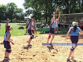 Турнир по волейболу собрал 12 команд