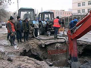 Тысяча квартир в Левобережном районе остались без водоснабжения