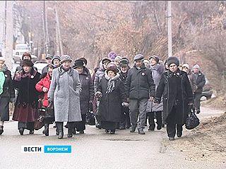 Тысячи пожилых воронежцев увидели знаковые места Черноземья