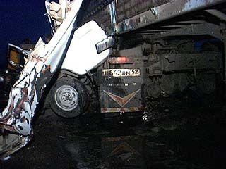 У развязки трассы Воронеж-Тамбов произошла крупная авария