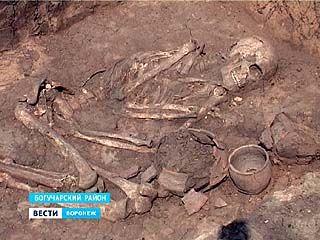 У села Дубрава Богучарского района археологи обнаружили курган бронзового века